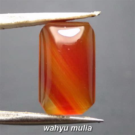 Batu Mulia Yaman Madu batu akik sulaiman yaman madu asli kode 846 wahyu mulia