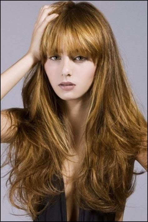 long hair with fringe hairstylrs 54 long fringe hairstyles you ve never tried before