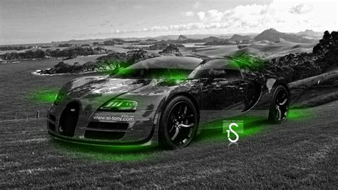 green bugatti bugatti veyron crystal nature sea car 2014 el tony
