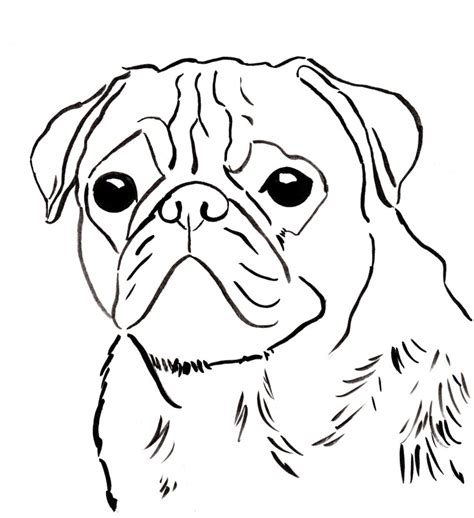 pug colouring pages printable pug coloring pages az coloring pages