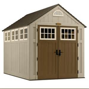 suncast alpine 174 7 ft x 10 ft resin storage shed lowe s