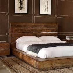 Reclaimed Wood Platform Bed Diy Platform Bed Of Reclaimed Wood Diy Bedroom