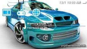 theme psp cars free psp theme car automotive psp theme download