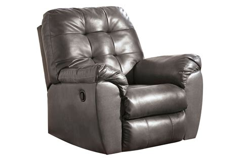 White Leather Rocker Recliner by Edison Bonded Leather Rocker Recliner