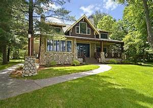 home plans mn a new craftsman style house on gull lake in minnesota