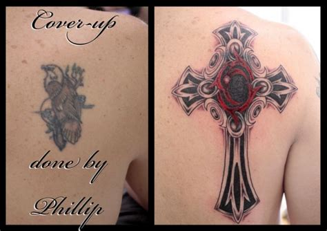 cross cover up tattoos 8 best tats images on stuff