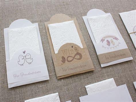 Hochzeitseinladungen Design Vorlagen Anleitung Verpackung Quot F 252 R Freudentr 228 Nen Quot Basteln Ideen Hochzeit Wedding