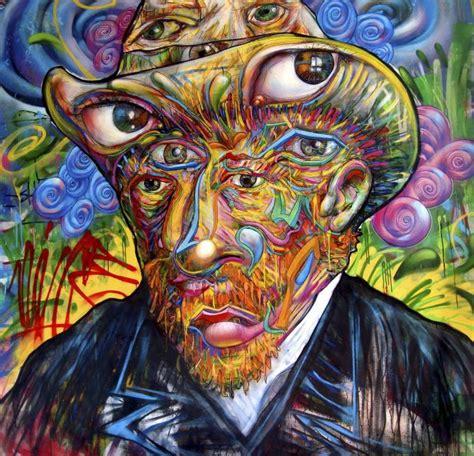 imagenes no realistas wikipedia el arte urbano versiona los cuadros de van gogh