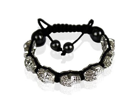 skull bead bracelet wholesale white skull bracelet
