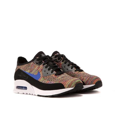 Nike Ultra by Nike Wmns Air Max 90 Ultra 2 0 Flyknit Multi Black