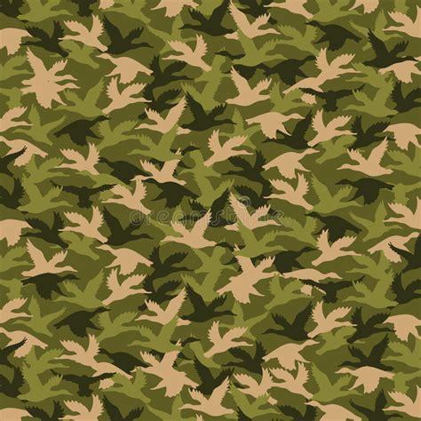 army pattern illustrator dynasty of duck hunting pattern stock illustration