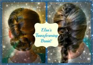 freeze braids hairstyles elsa s transforming updo and braid disney s frozen