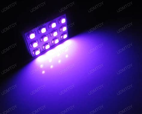 purple led bright led panel lights for any car interior dome lights
