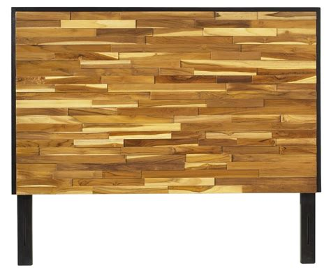 wooden twin headboard padma s plantation reclaimed wood headboard for twin size