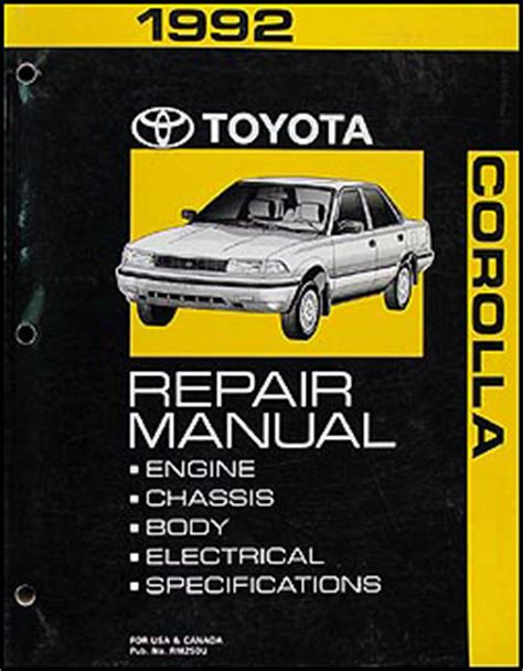 auto air conditioning repair 1994 toyota celica electronic toll collection 1992 toyota corolla and tercel automatic transmission repair shop manual