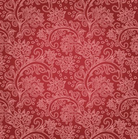 red floral background vector art graphics freevectorcom