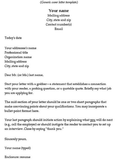 what should your cover letter say what do the letters say how to format cover letter