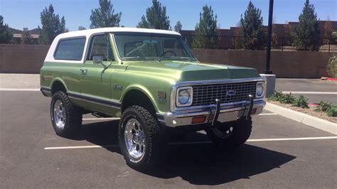 Blazer X8 1972 Chevrolet Blazer K5 For Sale 951 691 2669