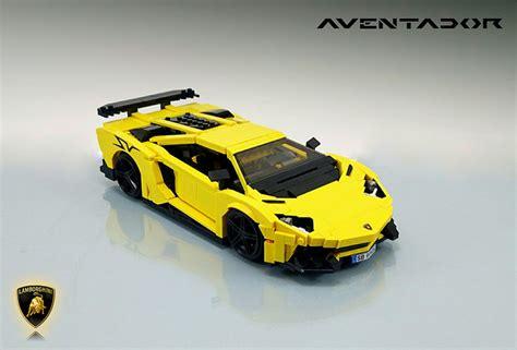 Lego Lamborghini Lego Lamborghini Aventador Superveloce In 1 16 Scale The