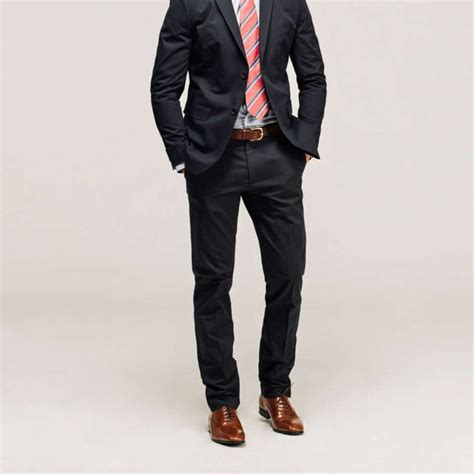 25 best ideas about black suit brown shoes on
