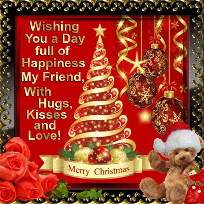 merry christmas    friend  friends ecards greeting cards