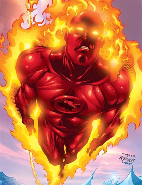 Baju Human Torch Fantastic Four 1000 ideas about human torch on superheroes