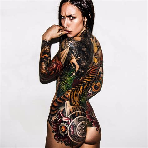 tattoo body female amazing full body back tattoo venice tattoo art designs