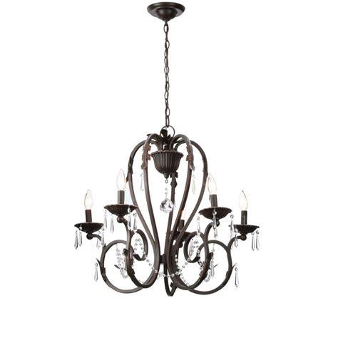 home decorators collection 5 light bronze