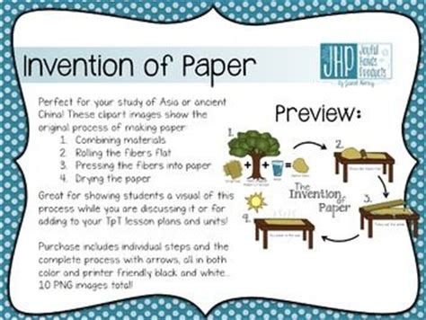 Invention Of Paper - invention of paper clipart study inventions and asia