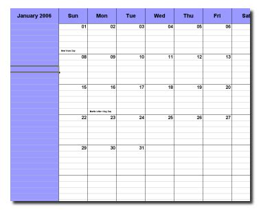 Template Clipart Contest Open Office Schedule Template