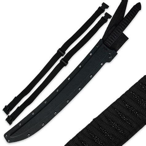 black ronin sword black ronin samurai sword with shoulder scabbard budk