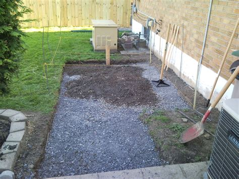 Paver And Gravel Patio Backyard Upgrades 09