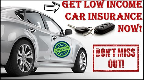 Low Car Insurance by Low Income Car Insurance At To Go Always
