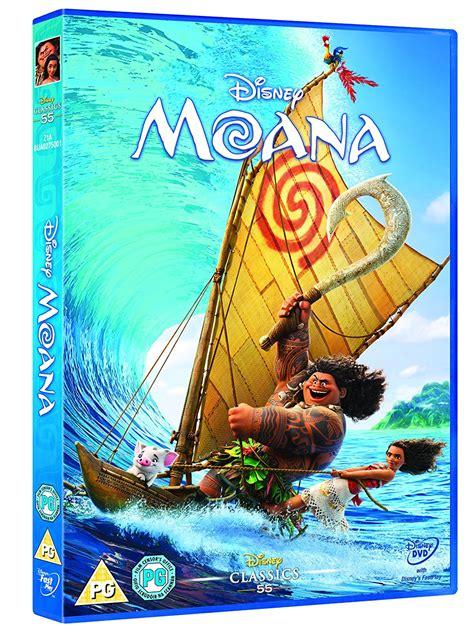 Dvd Moana walt disney classics 55 moana dvd 2017 dwayne the