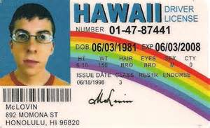 mclovin id template one of the worlds best selling novelties