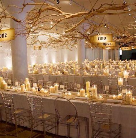 golden wedding table decorations best 25 winter wedding decorations ideas on