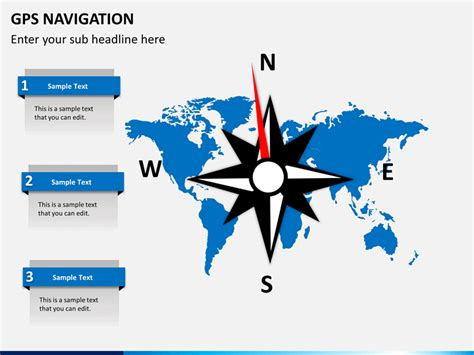 gps tutorial powerpoint gps navigation powerpoint template sketchbubble