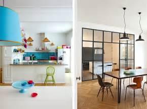decoration salon avec cuisine ouverte agrandir la verrire