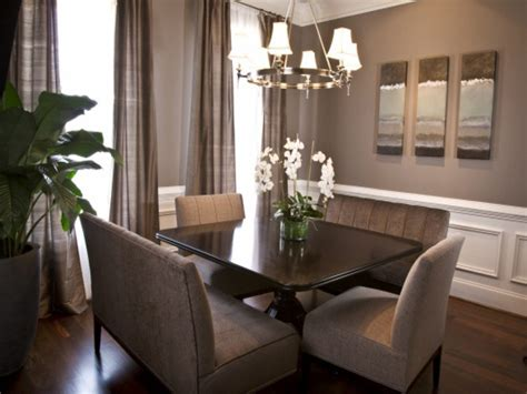 Dining Room Ideas Grey Furniture Photos Hgtv Attractive Taupe Dining Room