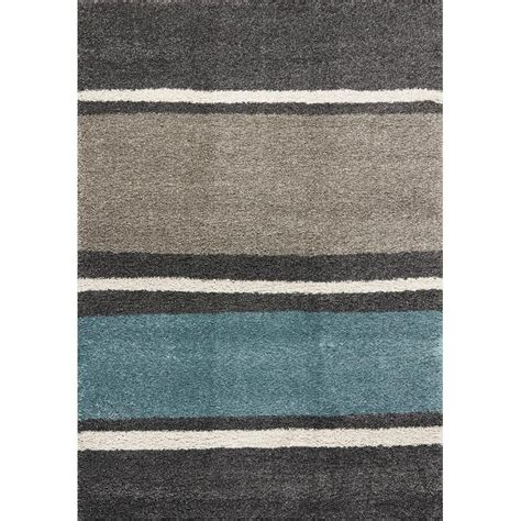 Teal And Grey Area Rug by Teal Gray 5 X 8 Maroq Area Rug