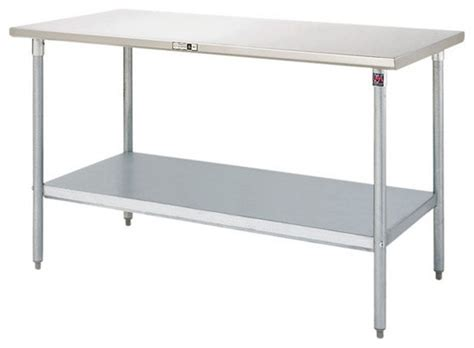 stainless steel kitchen work table island stainless steel work tables by john boos modern