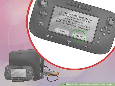 format hard drive for wii mac how to set up an external hard drive on wii u 5 steps