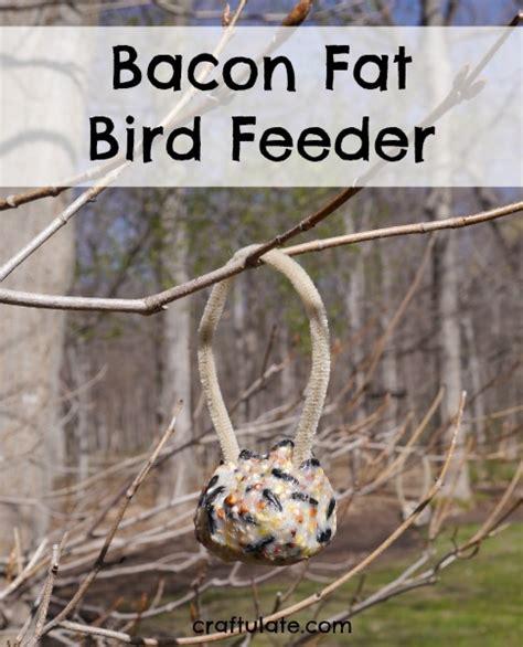 bacon fat bird feeder craftulate