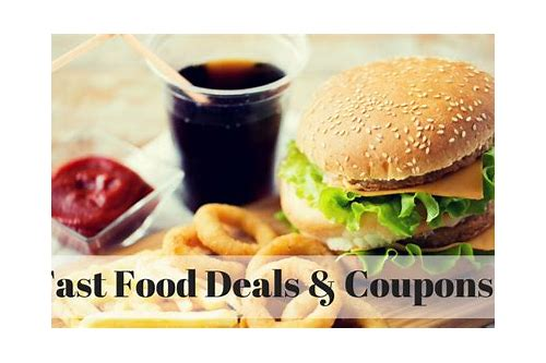 modesto fast food coupons
