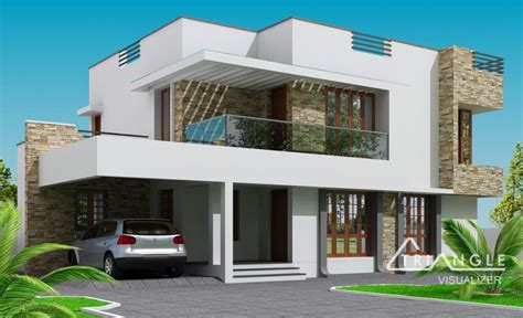 Home Design Story Part 1 Appealing Brown And White Two Level Building With Large