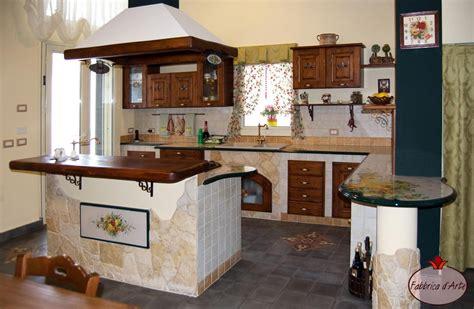 Cucine In Muratura Con Penisola by Con Penisola Cucine In Finta Muratura Cucine In Finta