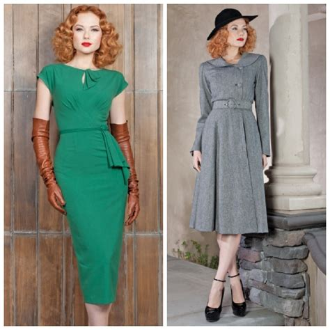 get a trendy vintage look with retro dresses gloss