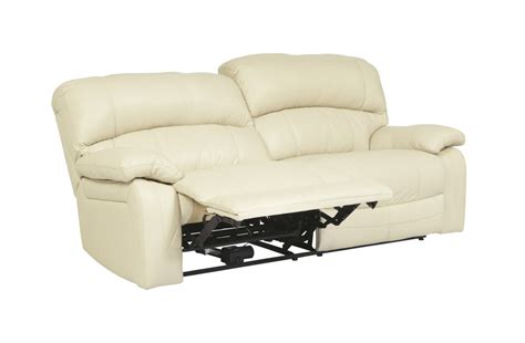 U9820147 Ashley Furniture Signature Design Damacio Cream 2 2 Seat Recliner Sofa