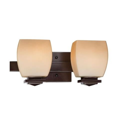 Ls Plus Bathroom Vanity Lights Glomar Elektra 6 Light Bronze Bath Vanity Light Hd 306 The Home Depot