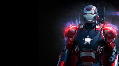 iron man wallpaper for macbook 1920x1080 iron patriot desktop pc and mac wallpaper
